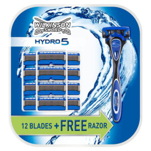 Wilkinson Sword Hydro 5 Value Pack 13 blades and Razor