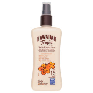 Hawaiian Tropic Satin Protection SPF15 Spray 200ml