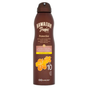 Hawaiian Tropic Dry Oil Continuous SPF 10 Spray 180ml