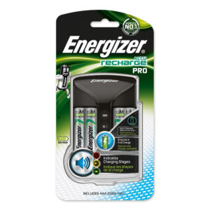 Energizer Pro Charger UK + 4AA 2000 mAh precharged